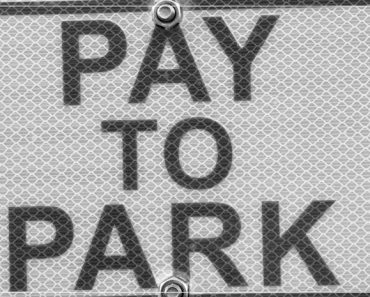 pay to park sign