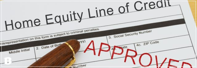 approved home equity line of credit